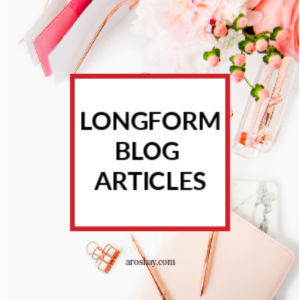 LONGFORM BLOG ARTICLES